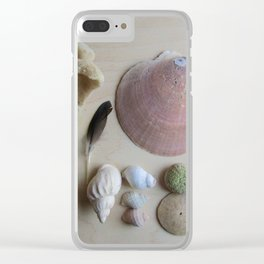 Little Beach Curiosity Collection 1 Clear iPhone Case