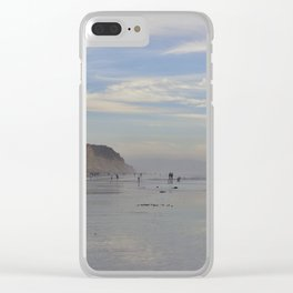 Photography - Misty Reflection at Torrey Beach Clear iPhone Case
