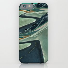 Double Vision On the Open Road iPhone Case