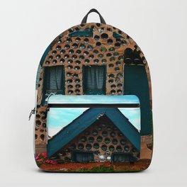 Green Gabled Bottle House Backpack
