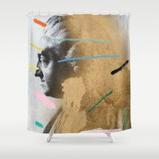 Composition 528 Shower Curtain