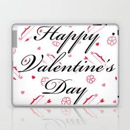 Happy Valentine's Day: Cupid's Arrow Laptop & iPad Skin