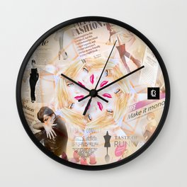 Fashion Addiction Wall Clock