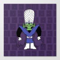 jojo Canvas Prints featuring MoJo JoJo  by Twisted Dredz