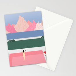 Poolside Views Stationery Cards