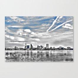 Memphis Skyline Canvas Print