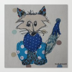 Mr Foxy Canvas Print