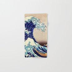 Katsushika Hokusai The Great Wave Off Kanagawa Hand & Bath Towel