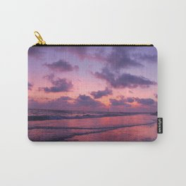 Sunset Pink glow Carry-All Pouch