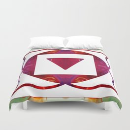 Stabilized Emotions And Thoughtful Feelings Duvet Cover