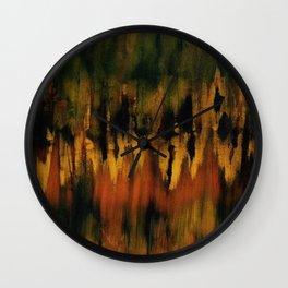 Inner Earth Wall Clock
