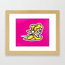 Hannah Bananas Logo Framed Art Print