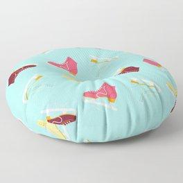 Ice Skating Floor Pillow