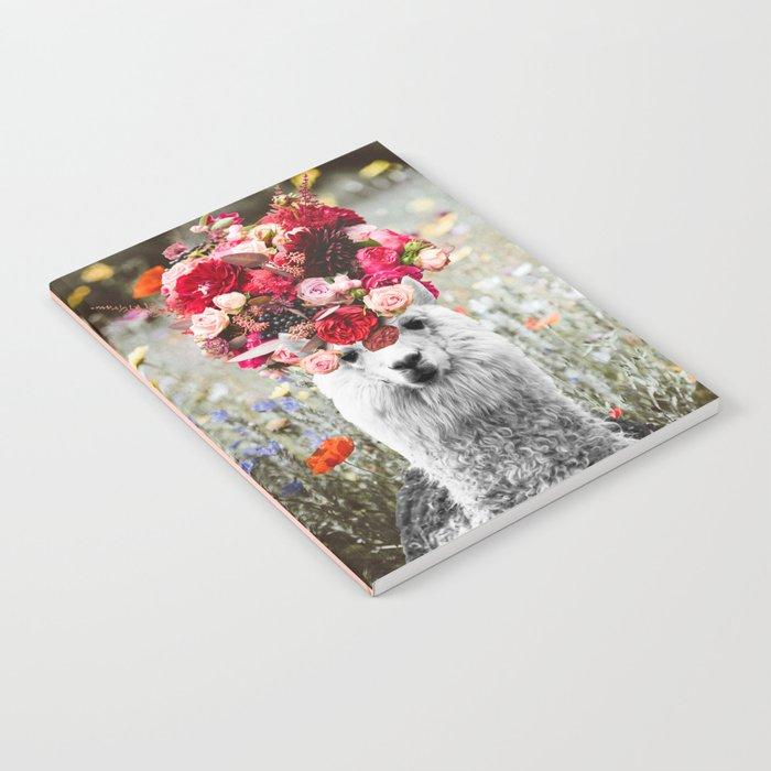Llama Llama Bouquets Notebook