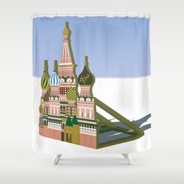 Russia Is A Marginal Power Shower Curtain
