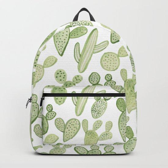 cactus, plants, succulents Backpack