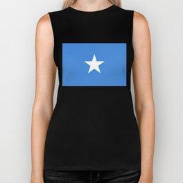 Flag of Somalia - Authentic High Quality image Biker Tank
