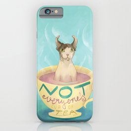 Not Everyone's Cup Of Tea - Sphynx Cat - Part 5 iPhone Case
