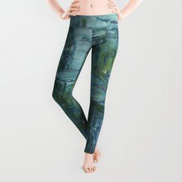 Nymphéas, Claude Monet Leggings