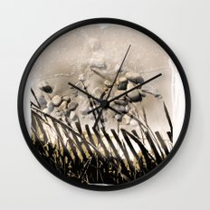 art in the sand 2 Wall Clock