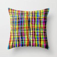 Madras Throw Pillow