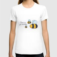 bees T-shirts featuring Bees!!! by AbelleArt