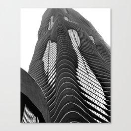 Aqua Tower #1 Canvas Print