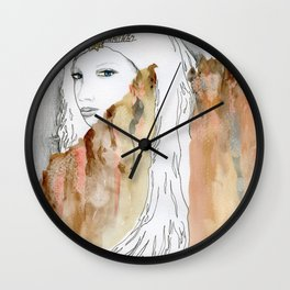 Ice Queen Of The Wall Wall Clock