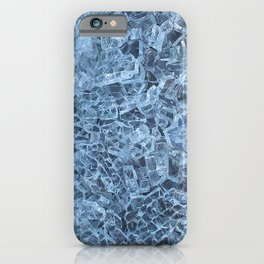 Broken Glass Abstract Pattern iPhone Case