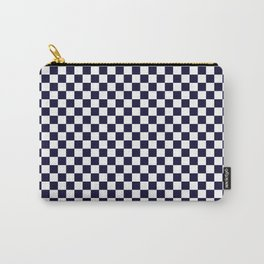 Checker Pattern Seamless Wallpaper Backdrop Carry-All Pouch