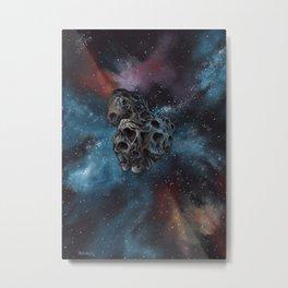 """Surreal space art, """"Ultima Thule"""" Metal Print"""