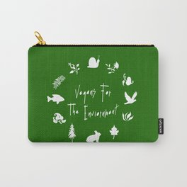 Vegans for The Enviornment Carry-All Pouch