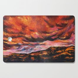 July in New Mexico Cutting Board