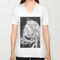 ellie goulding V-neck T-shirts featuring Ellie by Misha Libertee