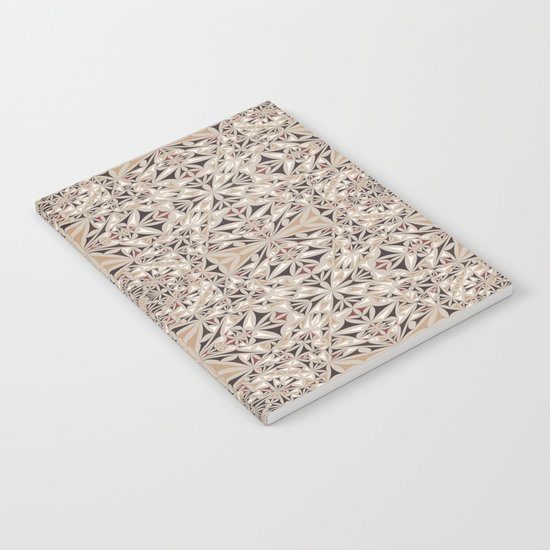 Cappuccino pattern Notebook