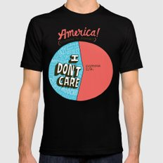 The 47% of America Romney Doesn't Care About MEDIUM Mens Fitted Tee Black