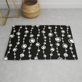 Enso Circle - Zen symbol pattern #2 Rug