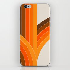 Bounce - Golden iPhone & iPod Skin