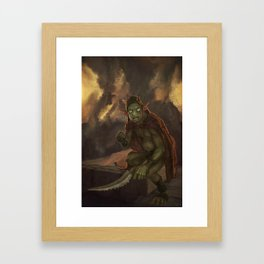 Goblyn Chief Framed Art Print