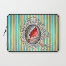 RED CARDINAL in FRAME Laptop Sleeve