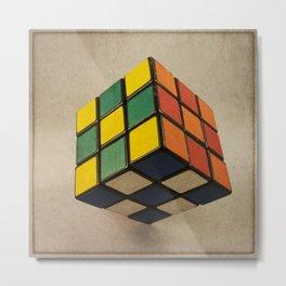 Cube of Rube Metal Print