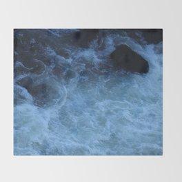 Overhead Rush Throw Blanket