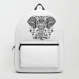 Mandala Elephant Backpack