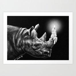 ENLIGHTENED Art Print