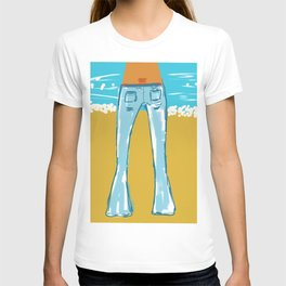 Sexy Blue Jeans T-shirt