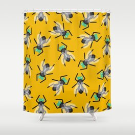 No Flies On Me Shower Curtain