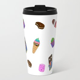 Food with faces Travel Mug