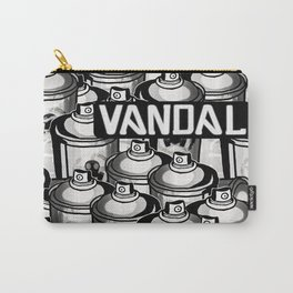 VANDAL and SPRAY CANS Carry-All Pouch