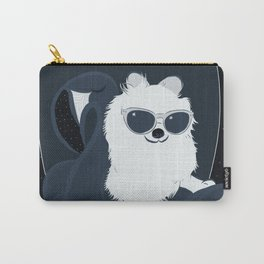 SPACE DOG - DIGITAL DRAWING BLUE PALETTE Carry-All Pouch