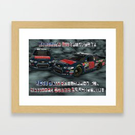 My 2013 Dale Earnhardt Jr. National Guard Chevrolet. Framed Art Print